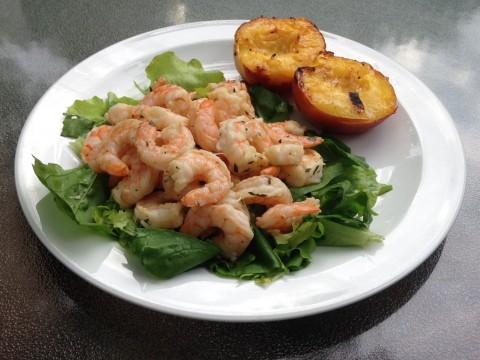 Grilled Lemon Herb Shrimp