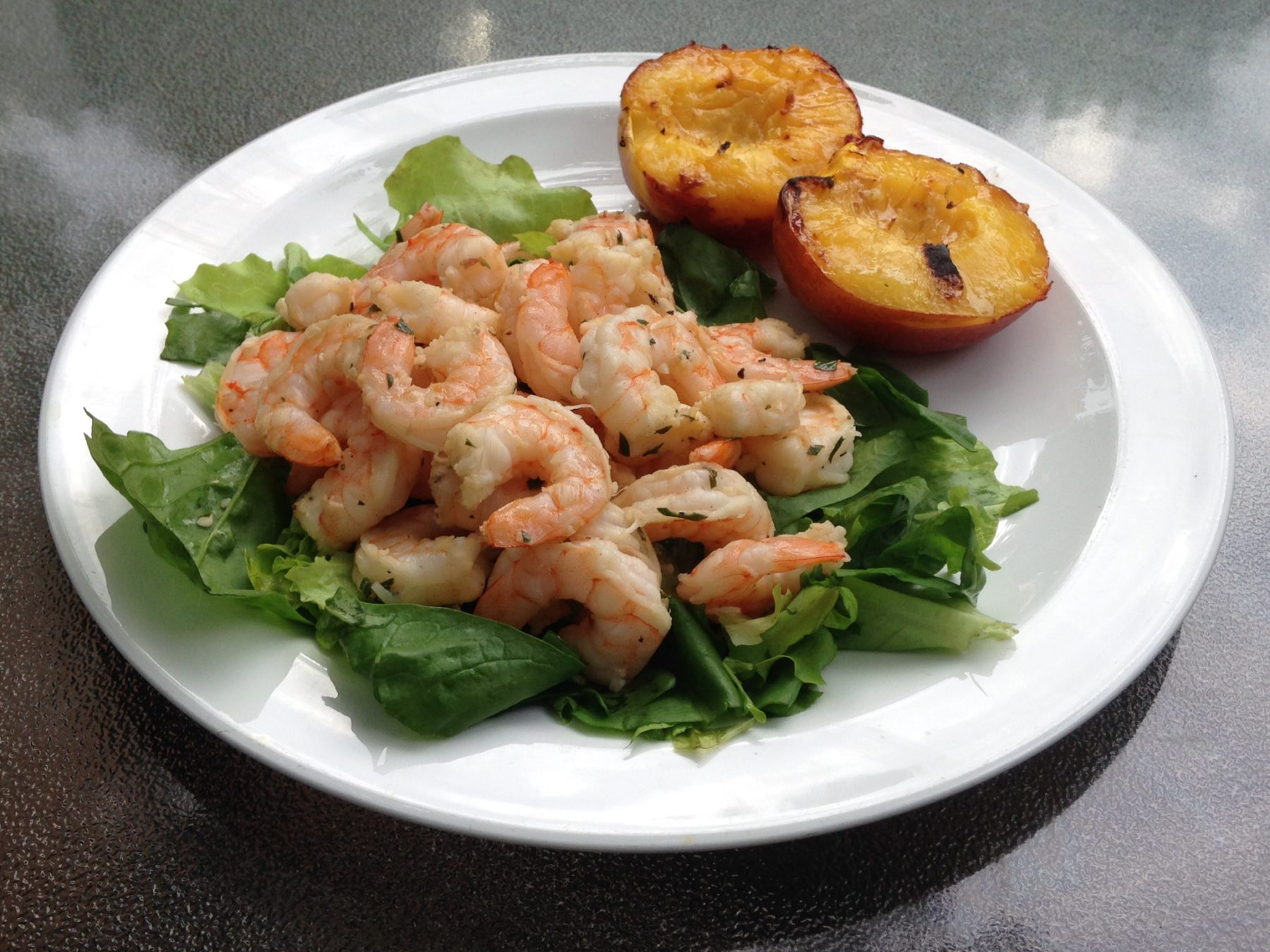 Grilled Lemon Herb Shrimp