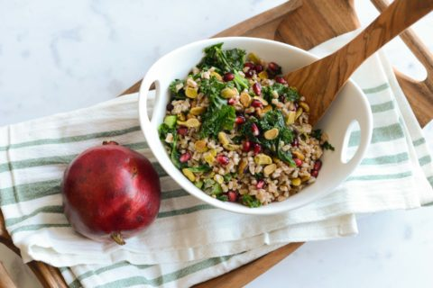 Winter Salad With Farro